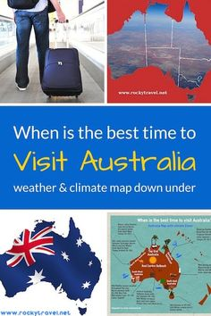 When is the best time to visit Australia? With double the size of Europe, Australia encompasses different climate zones and weather throughout the year. This comprehensive guide shows you how to plan your trip to Australia and visit its top destinations during the best time of the year. #australia #travel #itinerary