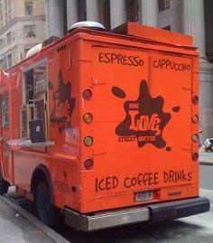 Love truck coffee - NYC (Wall street)