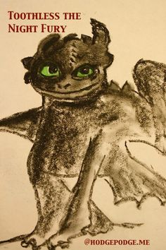 Toothless the Night Fury - How to Train Your Dragon