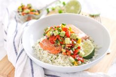 Salmon is a tasty way to get some good fats, and this riff on salsa takes the dish to another level. Spicy jalapeños and sweet pineapple meet creamy, heart-healthy avocado to make this salsa anything but ordinary.
