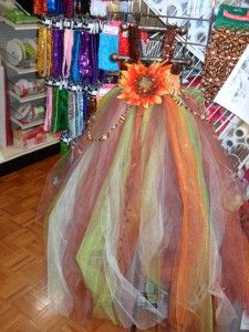 Create a gorgeous tulle dress for fall! http://portersonline.com/2013/09/05/fall-tulle-dresses/