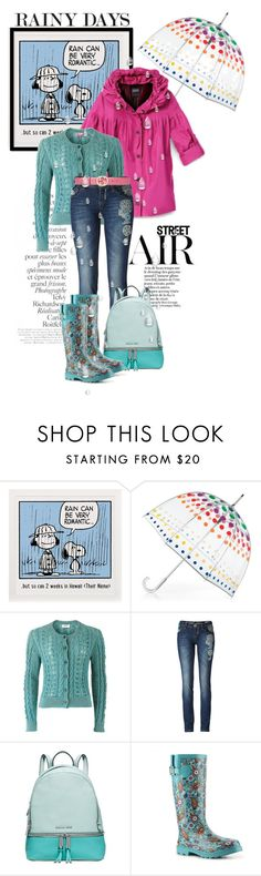"""""""Rainy days"""" by hani-bgd ❤ liked on Polyvore featuring By Terry, Totes, Hilary Radley, People Tree, Desigual, Michael Kors, Kelly & Katie, Gucci and rainyday"""