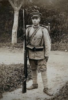 Japanese soldier.