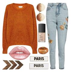 """Majestic Beauty"" by sweet-jolly-looks ❤ liked on Polyvore featuring Étoile Isabel Marant, Topshop, Linda Farrow, NARS Cosmetics, Lime Crime, Rosanna, Improvements, WALL, casual and simple"