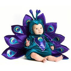 Disfraz de Pavo Real para Bebé/Niño Pequeño