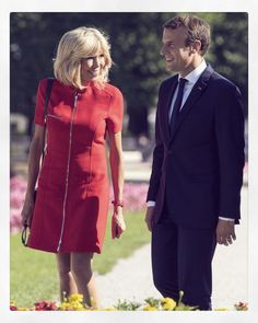 "541 Likes, 40 Comments - BrigitteMacronFrance (@brigittemacronfrance) on Instagram: ""❤20 Octobre 2007 ❤ 20 Octobre 2017 Brigitte et Emmanuel Macron Bonne nuit #Brigittemacron…"""