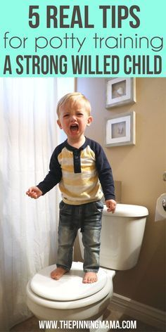 This is the best I have read on Potty Training! 5 REAL tips on potty training a strong willed child!