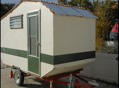 Custom Built Trailer in Murray UTtrailer is long, wide, and high. The table folds to a queen size bed Teardrop Trailer Plans, Lightweight Trailers, Queen Size Bedding, Tiny House, Tent, Shed, Campers, Outdoor Structures, Craft
