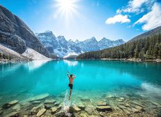 #adventure , I want to wake up like this  / Lake Moraine, Canada /  Chris Burkard Photography