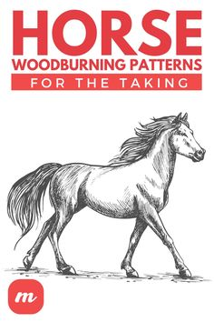 Wood Burning Crafts, Wood Burning Patterns, Horse Template, Negative And Positive Space, Types Of Lines, Free Horses, Most Popular Sports, Clydesdale, World Of Sports