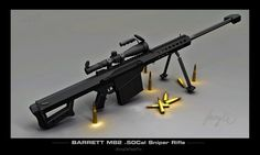 Barrett M82 .50 Cal Sniper Rifle wallpaper