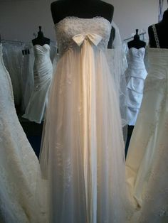 I picked this wedding dress out for myself when I was 14.