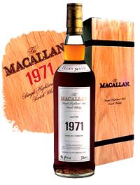 The Macallan 1971 Single Malt Scotch Whisky (700ml)