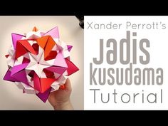 Difficulty:      (Medium Easy) Traditional Origami This is one of the most impressive Origami flowers I know. True that it might not be completely Origa...
