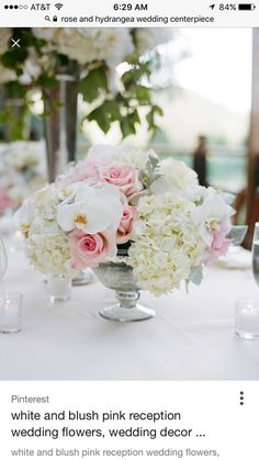 Needs to be all white flowers, all kinds of roses, hydrangeas, ranunculus, gardenias