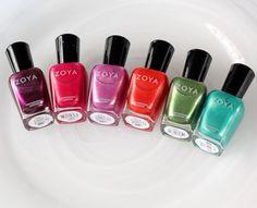 The Zoya Surf Collection: Cowabunga, Dude!