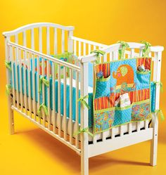 4034 Kwik Sew Baby Infants Home Nursery Organizer Crib Bumpers Pattern UC for sale online Kwik Sew Patterns, Easy Sewing Patterns, Baby Patterns, Sewing Ideas, Sewing Crafts, Sewing Projects, Baby Diy Projects, Nursery Organization, Baby Sewing