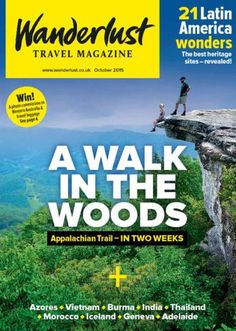 """#MagLoveTop10 29 January 2016: """"Best Travel Magazine Covers of 2015."""" #6. Wanderlust, October 2015."""