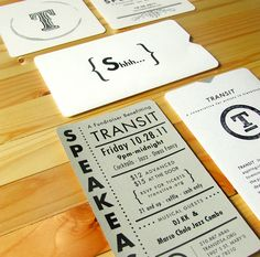 Transit Identity Collateral      PRODUCTION METHOD  Inkjet  Rubber stamp  Silkscreen