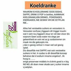 28 Dae Dieet, Dieet Plan, O Pop, Diet Recipes, Diet Meals, Different Diets, 28 Days, Detox, Afrikaans