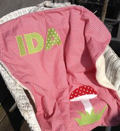 Babydecken - Namensdecke - Schmusedecke - ein Designerstück von ZimmerStein bei DaWanda