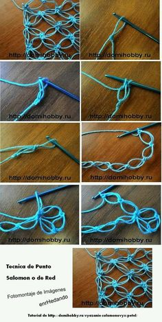 SOLOMON'S KNOT; also known as the LOVE KNOT  |  Crochet  ||  LOVE!!! Such a fun stitch! ♥A