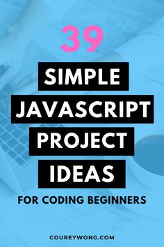 39 Javascript Project Ideas For Beginners | Want to learn how to code javascript and apply your new skills? Here is a list of 39 javascript project ideas perfect for beginners. You will learn the ins and outs of the basic fundamentals of javascript and how they apply to web design. Bring your code to life with these javascript beginner projects with simple functions that can be used in any coding project. #javascriptprojectideas #javascriptbeginnerprojects #javascriptprojectsforbeginners Javascript Course, Coding For Beginners, Coding Languages, All Website, Project Ideas, Projects, Learn To Code, Do You Know What, Best Web