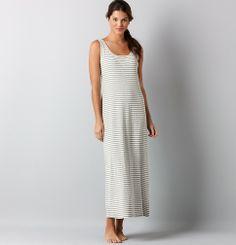 Stripe Knit Maxi Dress | Loft