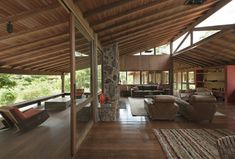 Jungle House, Forest House, Future House, Pole House, New Zealand Architecture, Brick Projects, Affordable Housing, Dream Decor, Architecture Details
