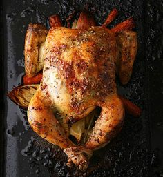 20 ways to cook a whole chicken - great resource, especially because I LOVE roasting chickens.