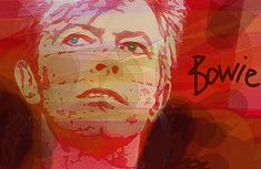 Bowie Visions by Enki Art All The Young Dudes, David Bowie Art, Portrait Art, Portraits, Modern Love, The Shining, Image Categories, Woodland Party, Creative Photos