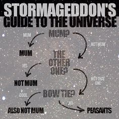 Stormageddon's Guide to the Universe