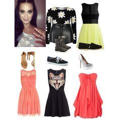 Katy Perry Concert. I like the kitten dress
