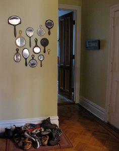 wall deco: mirrors
