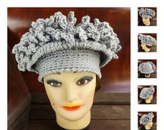 Womens Crochet Hat Pattern, African Hat, Womens Hat, LINDA Crochet Brimmed Hat Pattern with Fringes, Autumn Fashion, Fall Accessories