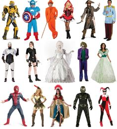 This Year's Popular Halloween Costumes + a coupon!