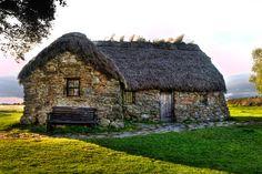 Leanach Cottage, Scotland