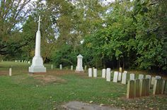 Confederate dead at Cross Creek Cemetery in Fayetteville,