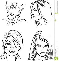 dibujos de caras - Buscar con Google