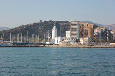 El faro desde la mar Julio 2012