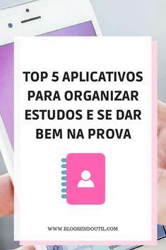 Top 5 aplicativos para organizar estudos e se dar bem na prova