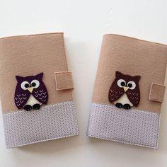 Kitap kılıfı / baykuş Whatsapp 0545 839 41 10 #kitapkılıfı#baykuş#şirin#keçe#owl#felt#mor#purple#kahverengi#brown#handmade#gift#hediyelik#şirin#bookcover#bookmark#bag#holiday