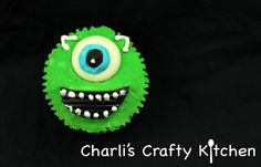 Mosnters Inc. Cupcake - Mike Wazowski!