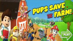 In Paw Patrol Pups Save the Farm, there's trouble in Adventure Bay, and the PAW Patrol needs your help to save the day. First meet Ryder in The Lookout. With a click of your mouse, gamers can help Ryder select the best pups for each rescue mission. PAW Patrol is on a roll and they'll need your help to steer their vehicles. To move the vehicles from side to side, use the left and right arrow keys.