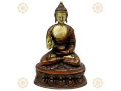 """Lord Buddha Statues, Buy Buddha Idols In Brass Online - Vedicvaani.com Get wide range of buddha deity idol, statues, murtis in brass and gemstones free shipping.  Budha means """"awakened one"""" or """"the enlightened one."""" Gautam is the primary figure in Buddhism, and accounts of his life, discourses, and monastic rules are believed by Buddhists to have been summarized after his death and memorized by his followers. http://vedicvaani.com/Buddha-Blessed-in-Meditation-Pose ."""