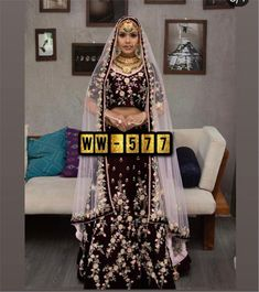 Order #WW577 VELVET with Embroidery work Lehenga CHOLI₹1725 on WhatsApp number +919619659727 or ArtistryC.in Ghagra Choli, Lehenga Collection, Lehenga Designs, Velvet, Saree, Number, Embroidery, Bridal, Stylish