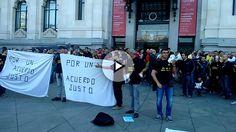 Este miércoles en las puertas del Ayuntamiento se han concentrado en torno a 300 policías para protestar contra el edil de Seguridad de Carmena.
