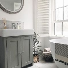 Likes, 55 Comments - Inside Number Sixteen Basin Vanity Unit, Bathroom Vanity Units, Bathroom Inspo, Bathroom Furniture, Tavistock, Country House Interior, Home Staging, The Unit, House Styles