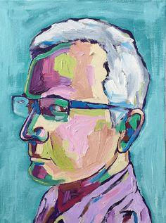 Commission your own unique painted portrait from supplied photo Lightbox, Painters, Artists, Contemporary, Portrait, Headshot Photography, Artist, Men Portrait, Drawings