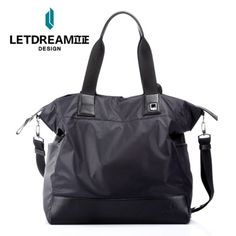 Stand At Attention High-end Fashion Long Cloth With Briefcase Fashion Nylon M Package Handbags Shoulder Men Handbags 14433254514